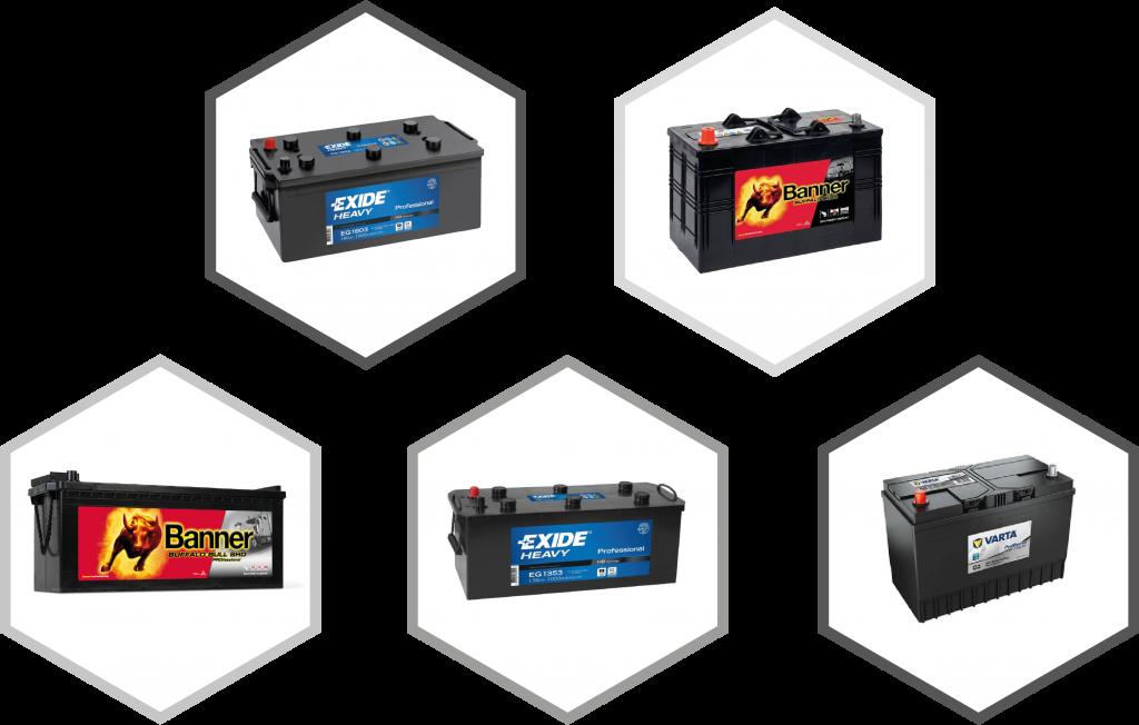 Commercial-battery-range